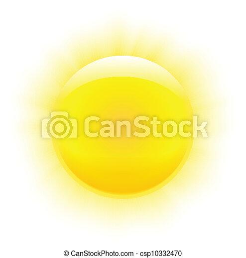 soleil, photorealistic - csp10332470