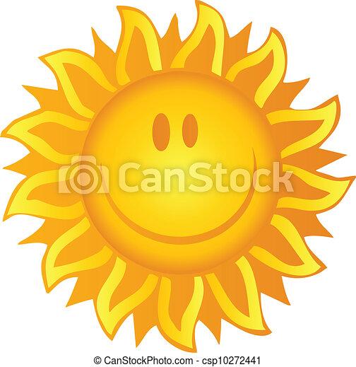 soleil, sourire - csp10272441