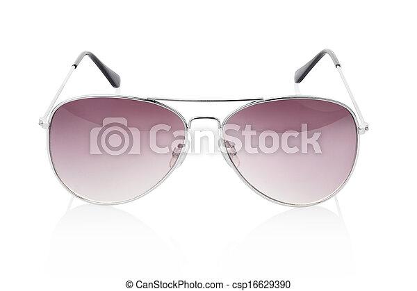 solglasögon, flygare - csp16629390