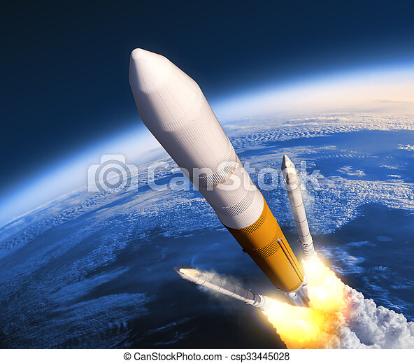 Solid Rocket Boosters Separation - csp33445028