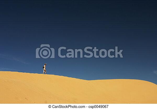 solo, @, sabbia, 01, collina - csp0049067