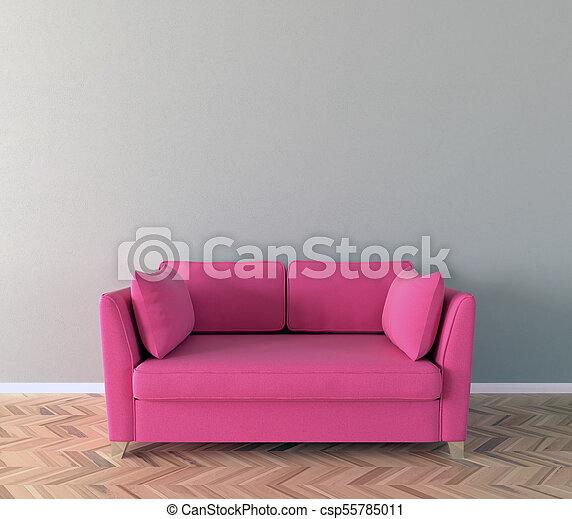 Admirable Solo Sofa Interior 3D Illustration Ibusinesslaw Wood Chair Design Ideas Ibusinesslaworg