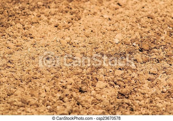 solo, textura, fundo - csp23670578