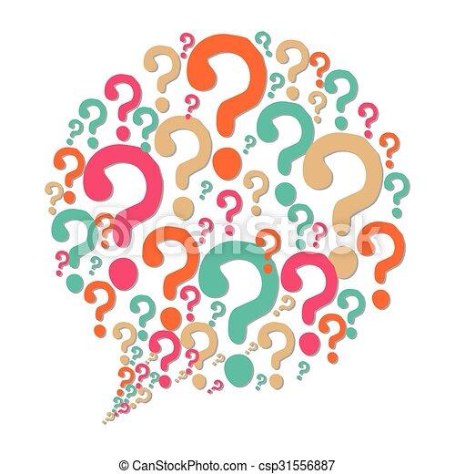 soluções, pergunta, ícones - csp31556887