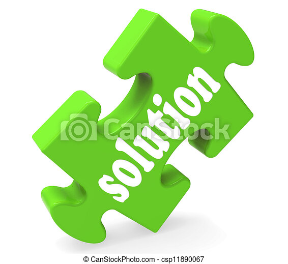 Solution Shows Success Development And Strategies - csp11890067