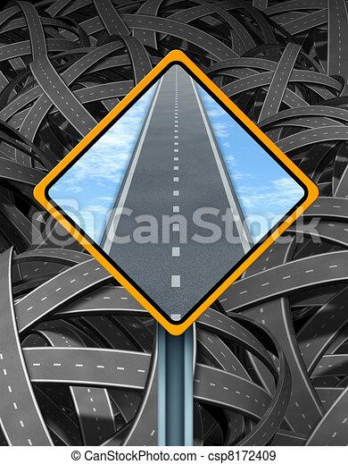 Solution Traffic Sign - csp8172409
