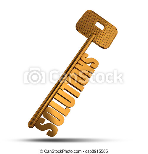 Solutions gold key - csp8915585