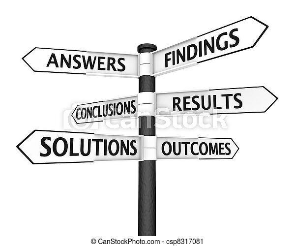 Solutions Signpost - csp8317081