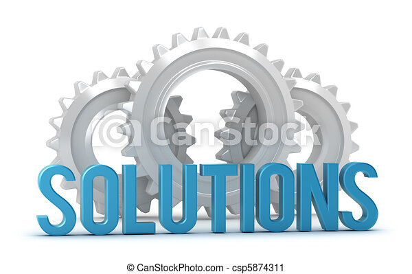 Solutions word with cogs - csp5874311