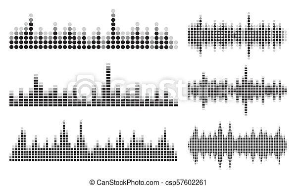 som, cobrança, onda - csp57602261