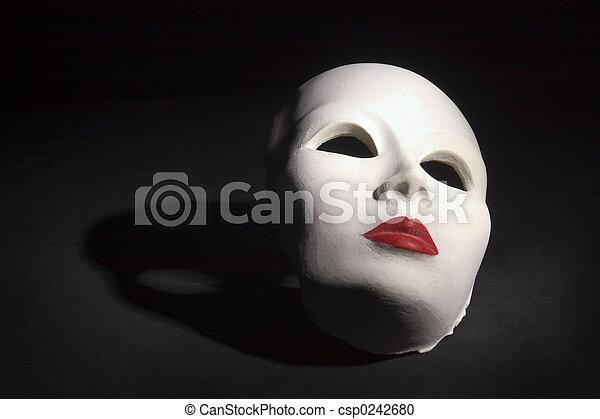 Máscara con sombra - csp0242680