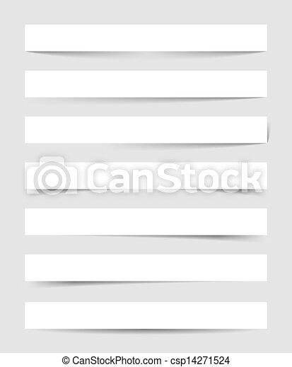 sombras, vetorial, transparente - csp14271524