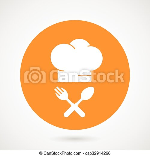 Sombrero de cocinero jefe - csp32914266
