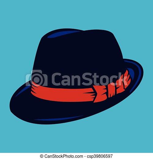 sombrero, fedora - csp39806597