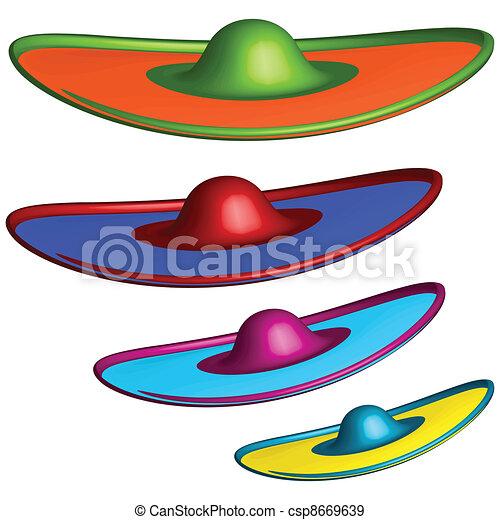 sombrero hats - csp8669639
