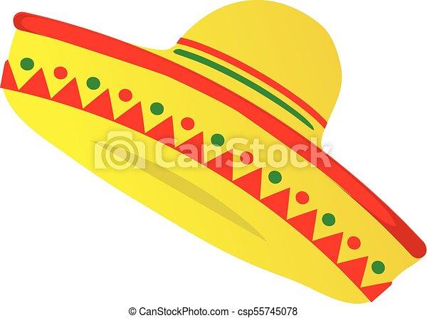 Sombrero Mexican Hat - csp55745078