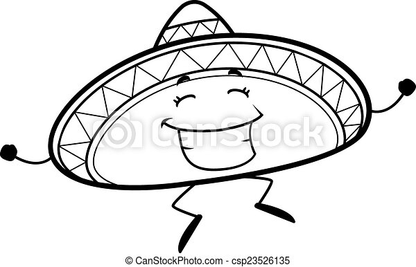 Salta Sombrero - csp23526135