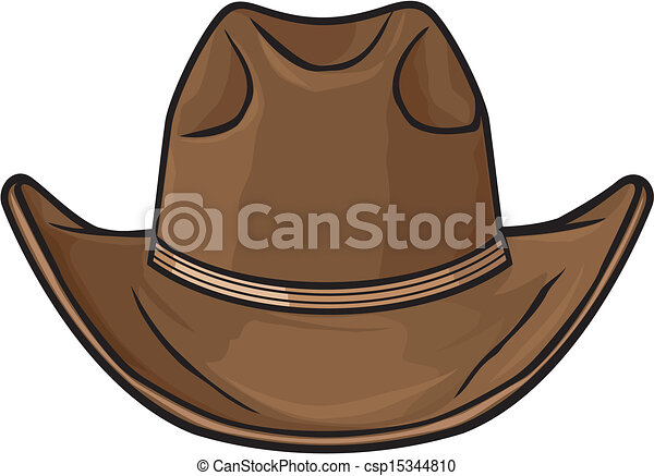 Sombrero de vaquero - csp15344810