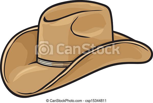 Sombrero de vaquero - csp15344811