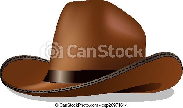 Sombrero de vaquero - csp26971614