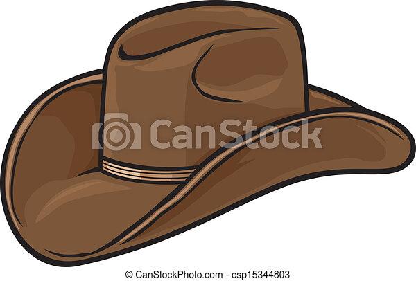 Sombrero de vaquero - csp15344803