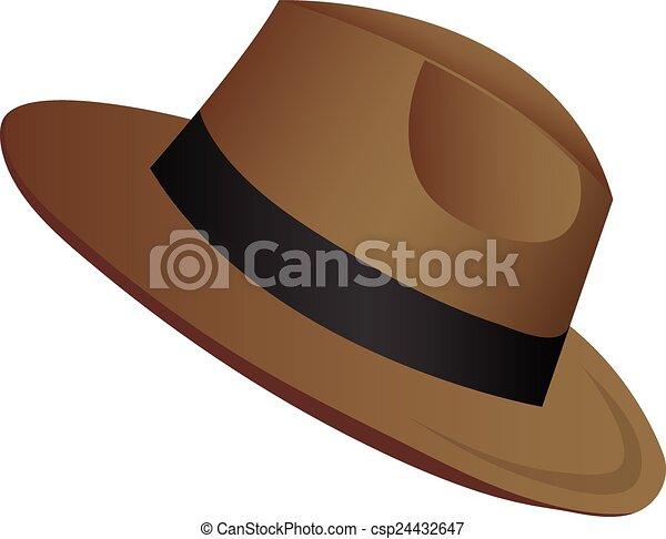 Sombrero de vaquero - csp24432647