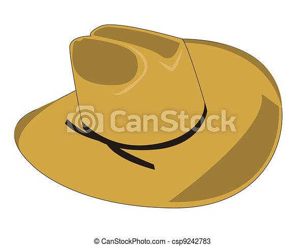 Sombrero de vaquero - csp9242783