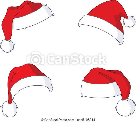 sombreros, santa - csp5108314