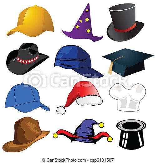 sombreros, vario - csp6101507