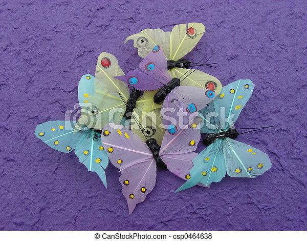 Some Butterflies - csp0464638