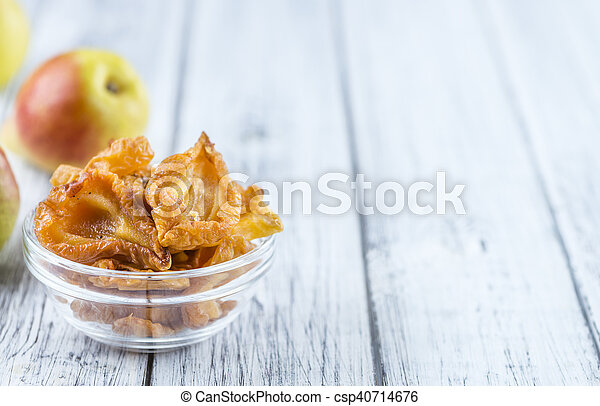 Some dried Pears (selective focus) - csp40714676