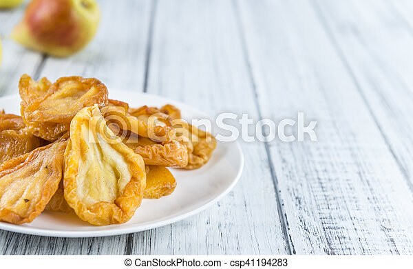 Some dried Pears (selective focus) - csp41194283