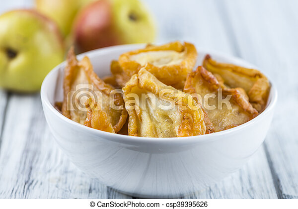 Some dried Pears (selective focus) - csp39395626