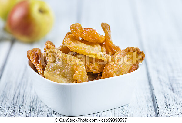 Some dried Pears (selective focus) - csp39330537
