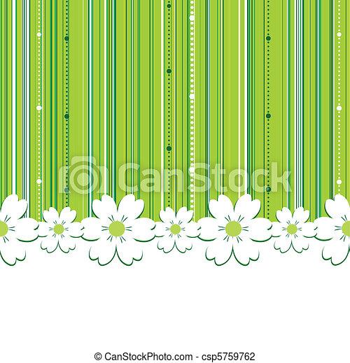 sommar, grön fond - csp5759762
