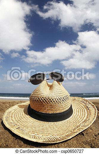 sommar hatt - csp0650727