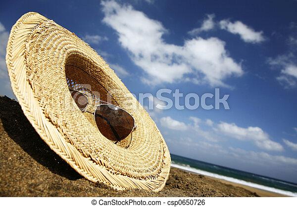 sommar hatt - csp0650726