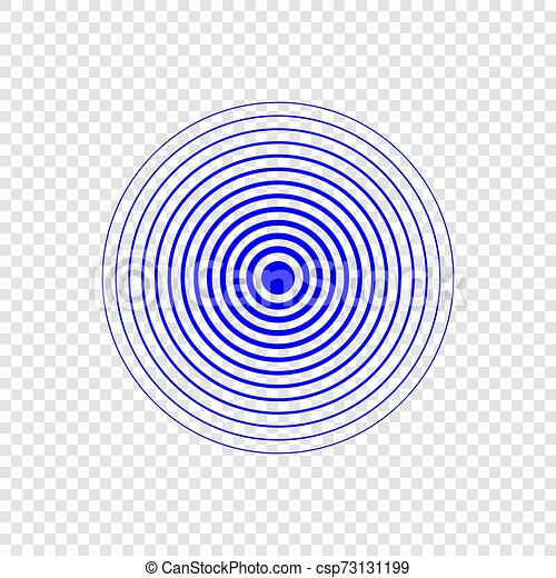 Sonar Search Sound Wave. Vector Radar Icon Royalty Free Cliparts, Vectors,  And Stock Illustration. Image 116217710.