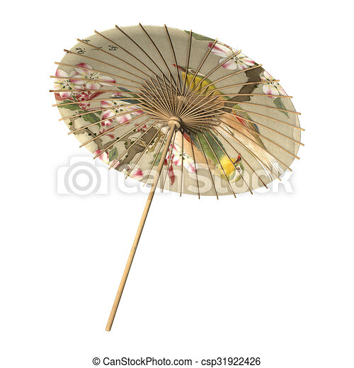 Sonnenschirm Asiatisch sonnenschirm asiatisch retro stil render freigestellt