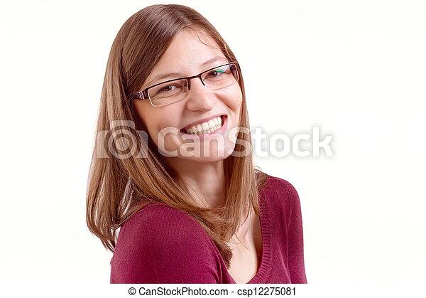 Feliz sonrisa - csp12275081