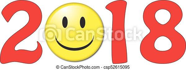 2018 sonrisa cara - csp52615095