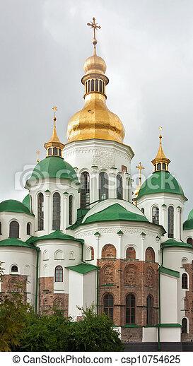 Santa Sophia catedral, kiev, ukraine - csp10754625