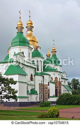 Santa Sophia catedral, kiev, ukraine - csp10754615