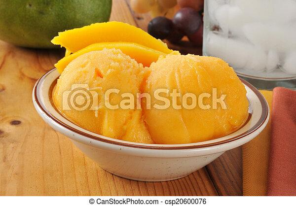 Sorbete de mango - csp20600076