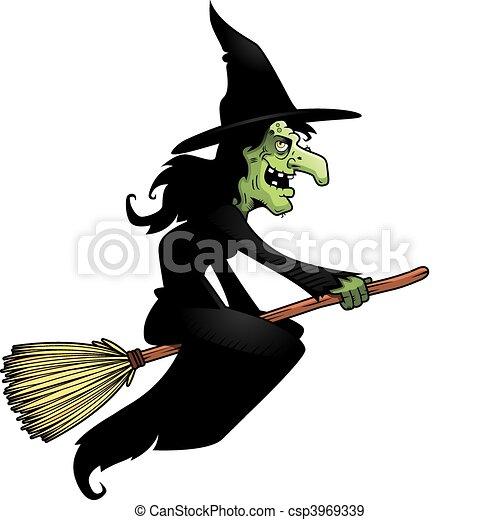 Sorci re manche balai broomstick voler sorci re dessin anim - Image de sorciere ...