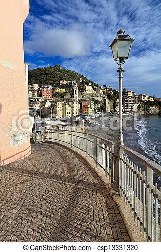 Sori, Italy - csp13331320