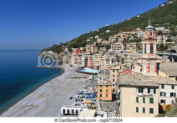 Sori, Liguria, Italy - csp9712924