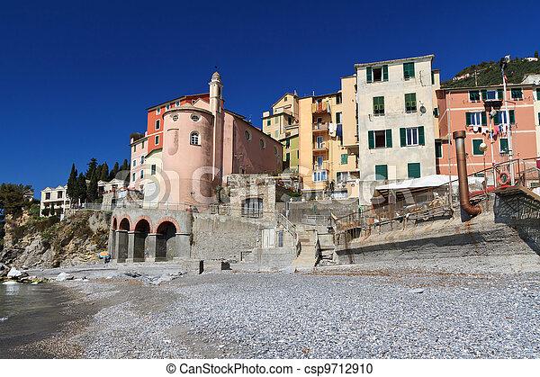 Sori, Liguria, Italy - csp9712910