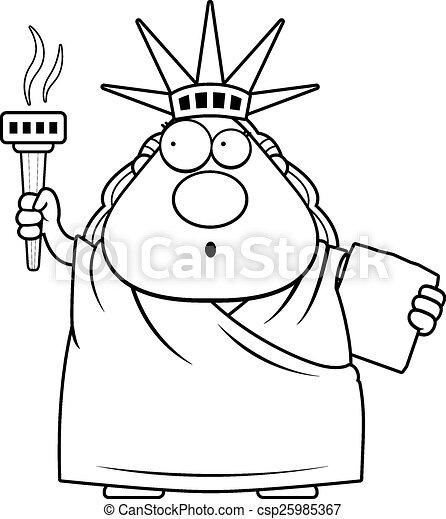 Caricatura Estatua De La Libertad Clipart   www.imagenesmy.com