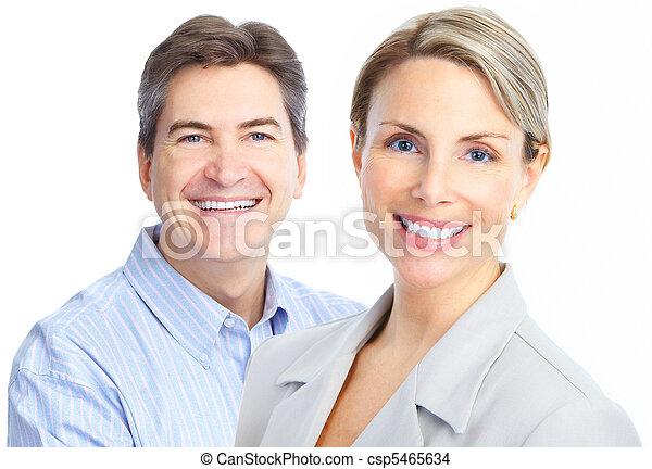 sorrisos, dentes - csp5465634